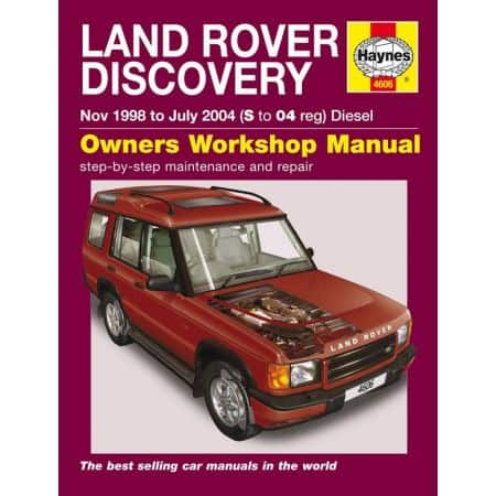 Discovery Die 98-04 Revue technique Haynes ROVER Anglais