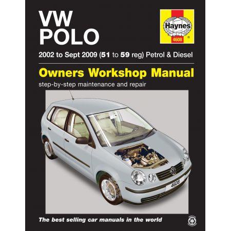 Polo 02-09 Revue technique Haynes VW Anglais