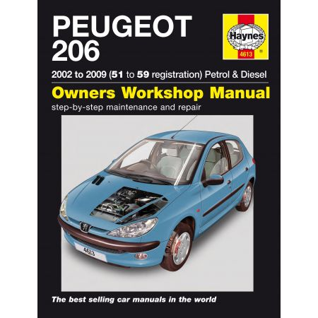 206 02-09 Revue technique Haynes PEUGEOT Anglais