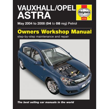 Astra Petrol 04-08 Revue technique Haynes OPEL VAUXHALL Anglais