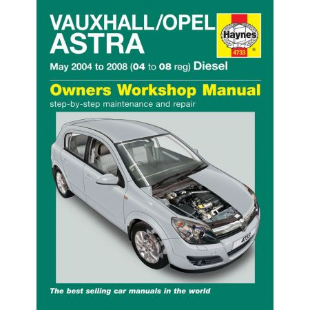 Astra Die 04-08 Revue technique Haynes OPEL VAUXHALL Anglais