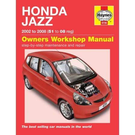 Jazz 02-08 Revue technique Haynes HONDA Anglais