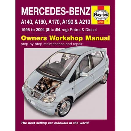 A-Class 98-04 Revue technique Haynes MERCEDES-BENZ Anglais
