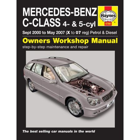 C-Class 00-07 Revue technique Haynes MERCEDES-BENZ Anglais
