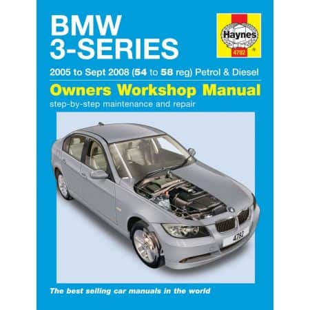 3-Series 05-09/08 Revue technique Haynes BMW Anglais