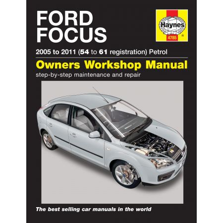 Focus Petrol 05-11 Revue technique Haynes FORD Anglais