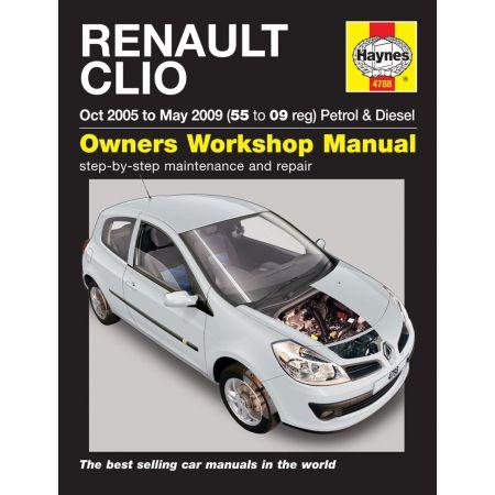 Clio 05-09 Revue technique Haynes RENAULT Anglais