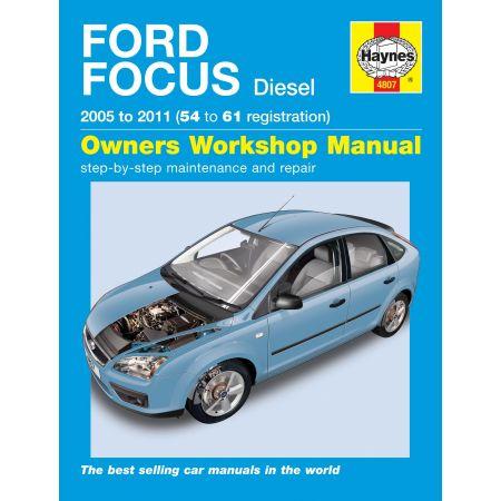 Focus Diesel 05-11 Revue technique Haynes FORD Anglais