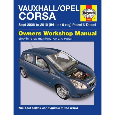Corsa 06-10 Revue technique Haynes OPEL VAUXHALL Anglais
