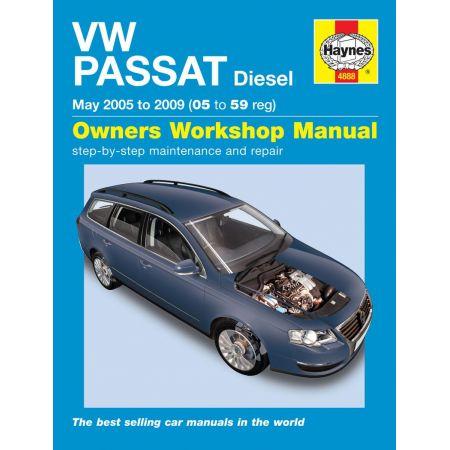 Passat Diesel 05-10 Revue technique Haynes VW VOLKSWAGEN Anglais