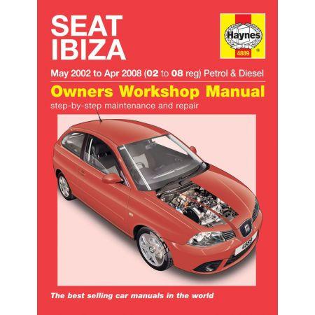 Ibiza 02-08 Revue technique Haynes SEAT Anglais