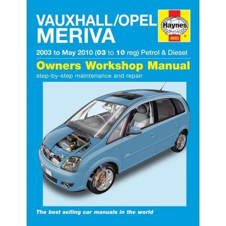 Meriva 03-10 Revue technique Haynes OPEL VAUXHALL Anglais