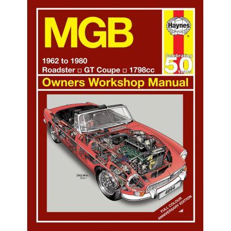 MGB 62-80 Revue technique Haynes MGB Anglais