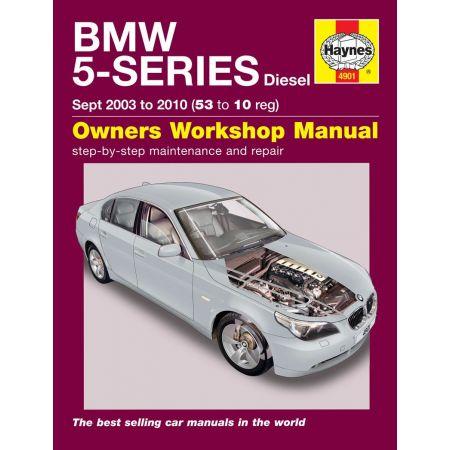 5 Series Diesel 09/03-10 Revue technique Haynes BMW Anglais