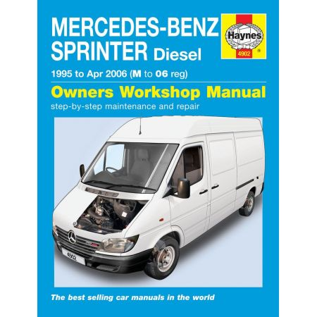 Sprinter Diesel 95-04/06 Revue technique Haynes MERCEDES-BENZ Anglais