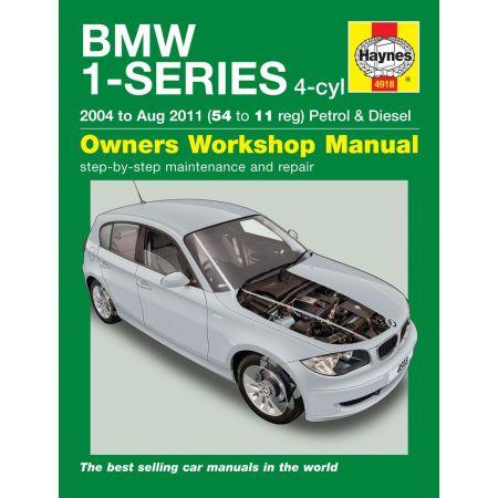 1-Series 4-cyl 04-08/11 Revue technique Haynes BMW Anglais