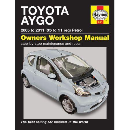 Aygo Petrol 05 -11 Revue technique Haynes TOYOTA Anglais