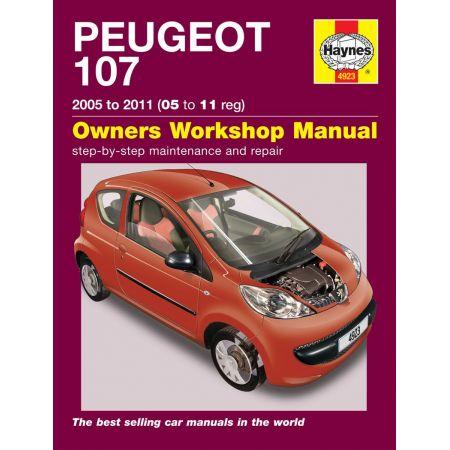 107 Petrol 05-11 Revue technique Haynes PEUGEOT Anglais