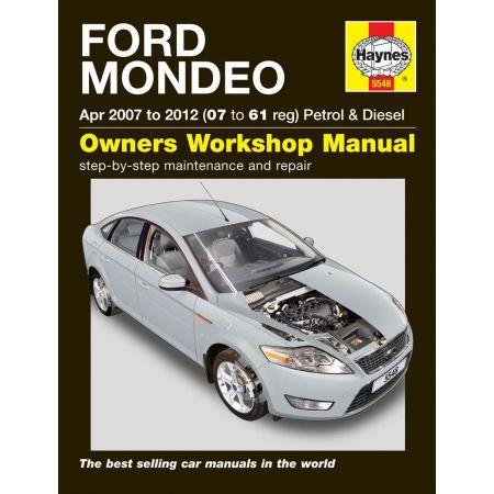 Mondeo 07-12 Revue technique Haynes FORD Anglais
