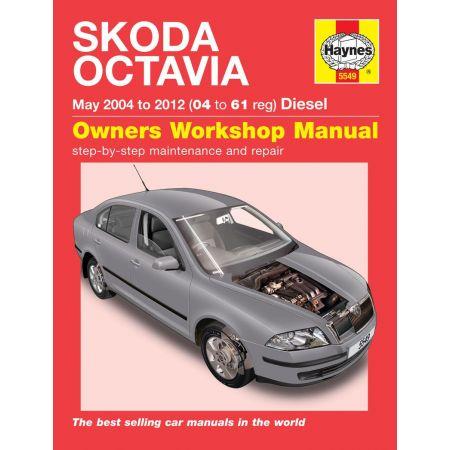 Octavia Diesel 04-12 Revue technique Haynes SKODA Anglais