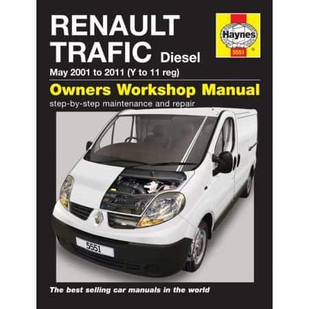 Trafic Diesel 01-11 Revue technique Haynes RENAULT Anglais