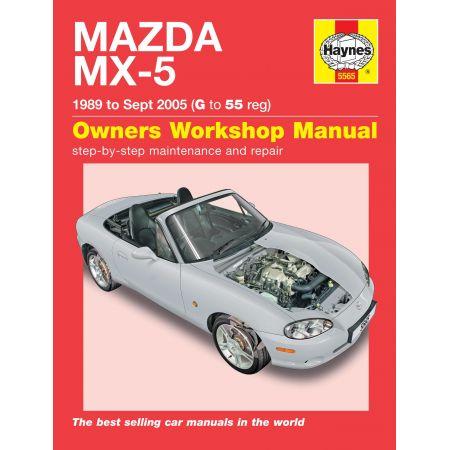 MX-5 89-05 Revue technique Haynes MAZDA Anglais