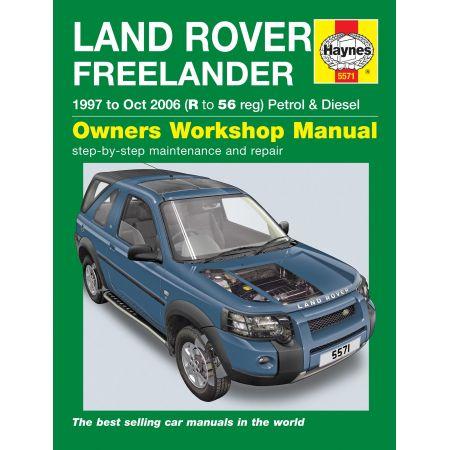 Freelander 97-10/06 Revue technique Haynes LAND-ROVER Anglais