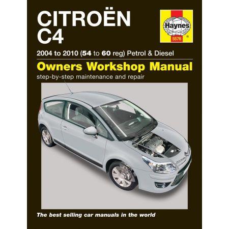 C4 04-10 Revue technique Haynes CITROEN Anglais
