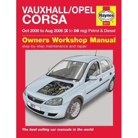 Corsa 00-06 Revue technique Haynes OPEL VAUXHALL Anglais