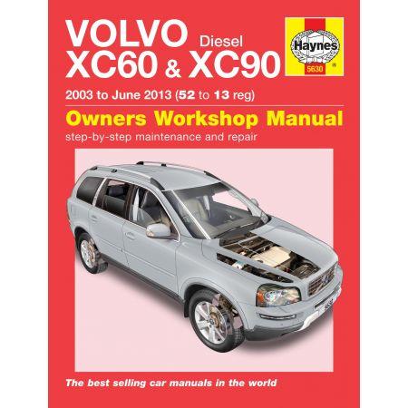 XC60 XC90 Diesel 03-13 Revue technique Haynes VOLVO Anglais