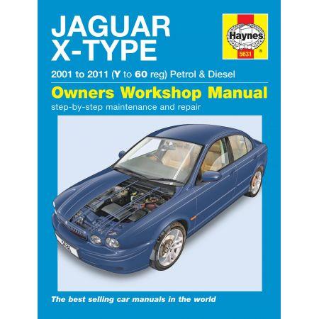 X Type 01-11 Revue technique Haynes JAGUAR Anglais
