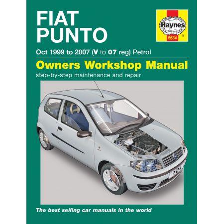 Punto petrol 99-07 Revue technique Haynes FIAT Anglais
