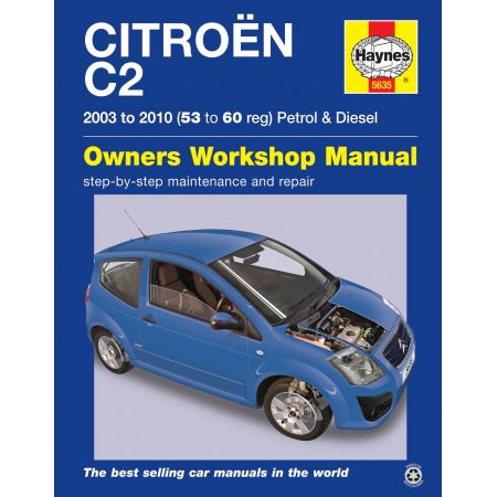 C2 03-10 Revue technique Haynes CITROEN Anglais
