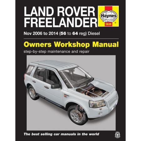Freelander 11/06-14 Revue technique Haynes LAND-ROVER Anglais
