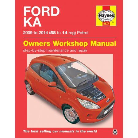 Ka Petrol 09-14 Revue technique Haynes FORD Anglais