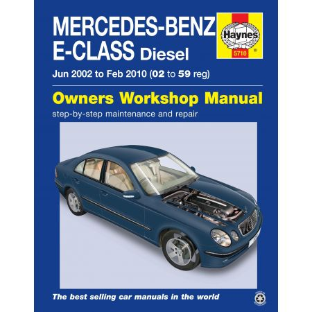 E-Class Die 02-10 Revue technique Haynes MERCEDES Anglais