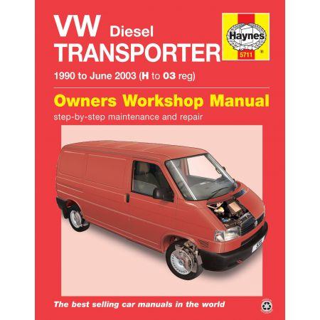T4 Transporter Die 90-03 Revue technique Haynes VW VOLKSWAGEN Anglais