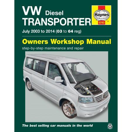 T5 Transporter 03-14 Revue technique Haynes VW VOLKSWAGEN Anglais