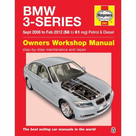 3-Series 09/08-02/12 Revue technique Haynes BMW Anglais