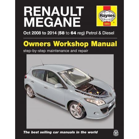 Megane III 08-13 Revue technique Haynes RENAULT Anglais