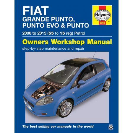 Punto 07-14 Revue technique Haynes FIAT Anglais