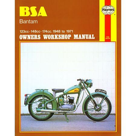 Bantam 48-71 Revue technique Haynes BSA Anglais