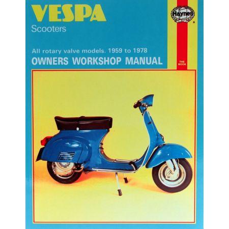 Scooters 59-78 Revue technique Haynes VESPA Anglais