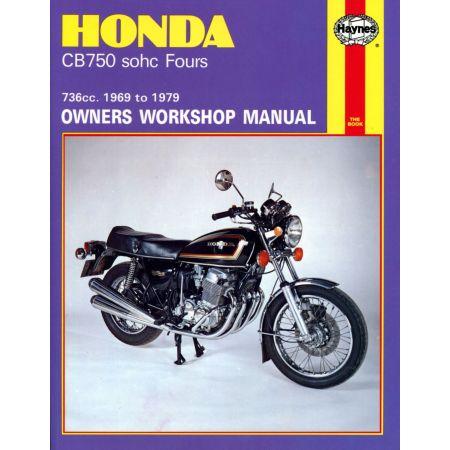 CB750 sohc Four 69-79 Revue technique Haynes HONDA Anglais