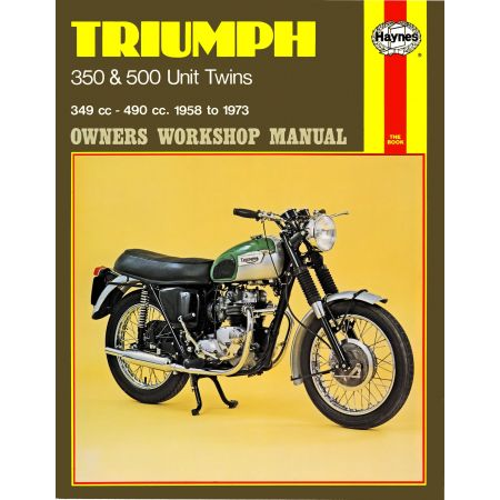 350 500 Unit Twins 58-73 Revue technique Haynes TRIUMPH Anglais