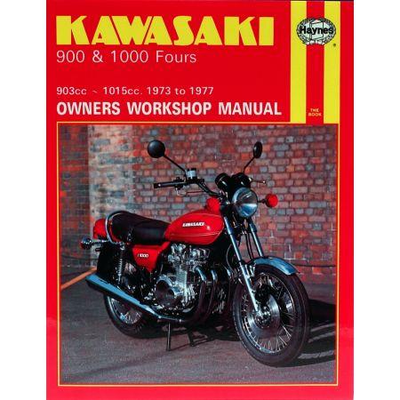 900 1000 Fours 73-77 Revue technique Haynes KAWASAKI Anglais