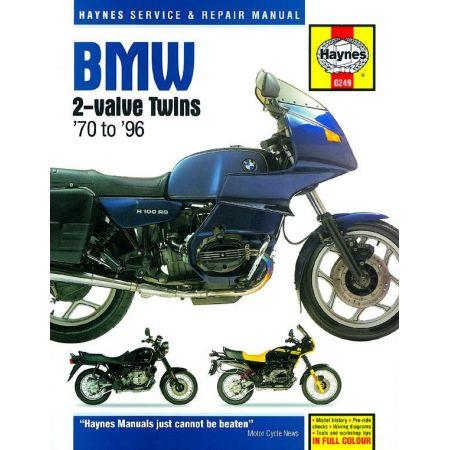 2-valve twins 70-96 Revue technique Haynes BMW Anglais