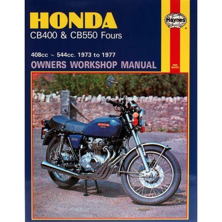 CB400 CB550 Fours 73-77 Revue technique Haynes HONDA Anglais