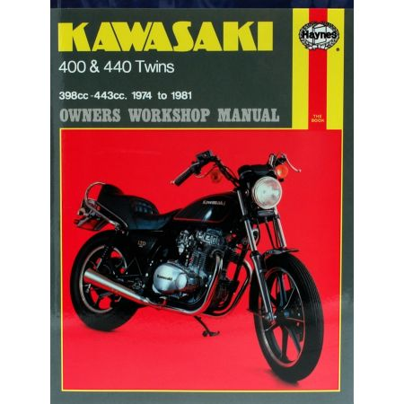 400 440 Twins 74-81 Revue technique Haynes KAWASAKI Anglais