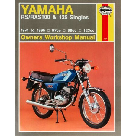 RS RXS100 125 Singles 74-95 Revue technique Haynes YAMAHA Anglais